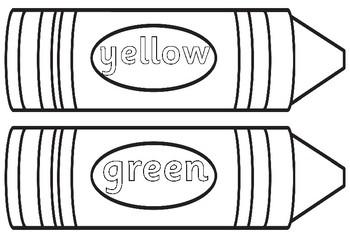 crayon color in page