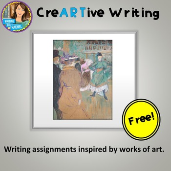 FREEBIE! Creative Writing with Painting Prompt