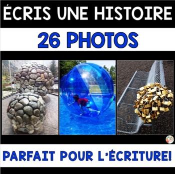 ÉCRITURE - Écris une histoire à partir de photos