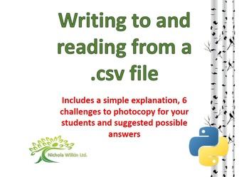 csv files with Python