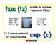 cup/taza meas 1-way blue/verde