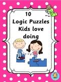 Logic Puzzles  kids love doing