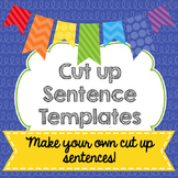 cut up sentence templates (CU ok)