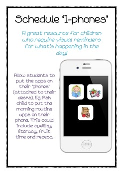 cute iphone teaching resource