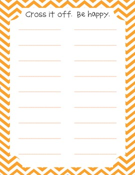 cute to-do lists to keep you organized.