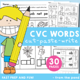 cvc Words Worksheets and Printable Activities