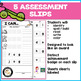 SHORT O cvc Words Worksheets/Assessments: I Can Spell, Read & Write!