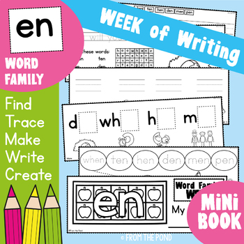 cvc Word Family - en - Week of Work Booklet