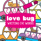 cvc Word Writing Activity Cards