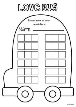 cvc Word Writing Activity Cards