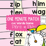 cvc Activities - Making Words with Onset and Rime