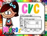 cvc cut and paste picture sort