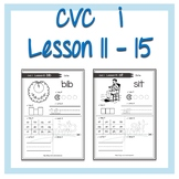 cvc i words Lesson 11 - 15