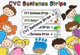 cvc sentence strips (a,e,o,u,i)