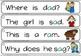 cvc sentence strips -short a