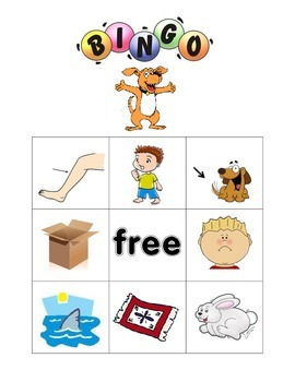 cvc short vowel bingo with decoding cards