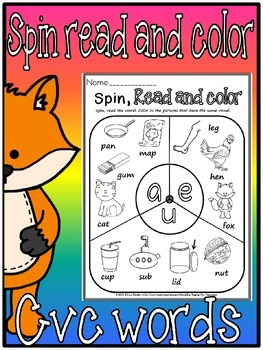 cvc spin read and color.