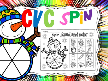 cvc spin read and color