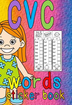 cvc sticker book