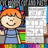 cvc words cut and paste the letters
