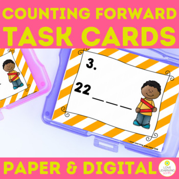 Number Sense SCOOT Task Cards Counting Forward