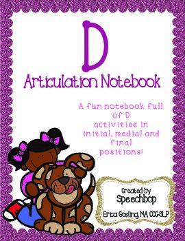 /d/ Articulation Notebook!