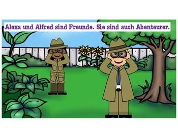 das Zauberkaninchen - a story for early German learners