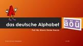 das deutsche Alphabet
