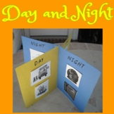 DAY and NIGHT: Sort, Venn Diagram, Poster, Activities & Test - English & Spanish