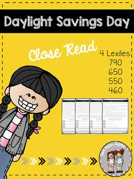 daylight savings day close read!