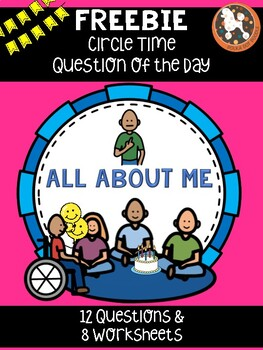 Question of the Day for Special Needs Kids.....ALL ABOUT ME