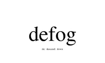 de- Latin Prefix Words and Sentences