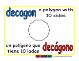 decagon/decagono geom 1-way blue/rojo