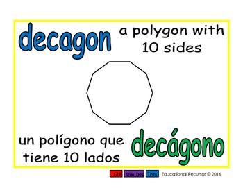 decagon/decagono geom 1-way blue/verde