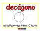 decagon/decagono geom 2-way blue/rojo