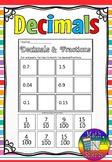 decimals and fractions sort