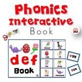 Phonics Interactive Book (d-e)