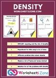 density calculation worksheet answers - problem worksheet