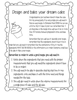 design and bake your dream cake
