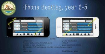 desk tags - iPhone, yr 2-5