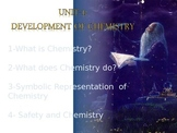 development of chemistry