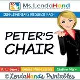 Reading Street, PETER'S CHAIR, Teacher Pack by Ms. Lendahand:)
