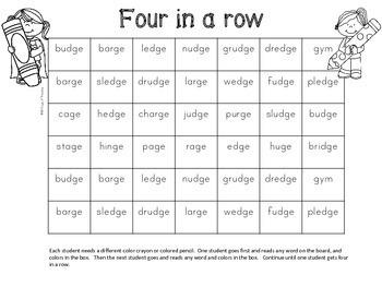 dge ge worksheets to practice the soft g spelling pattern tpt. Black Bedroom Furniture Sets. Home Design Ideas