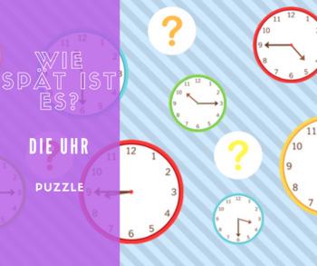 die Uhr Puzzle
