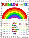 different ways to add numbers to get 10