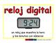 digital clock/reloj digital meas 2-way blue/rojo