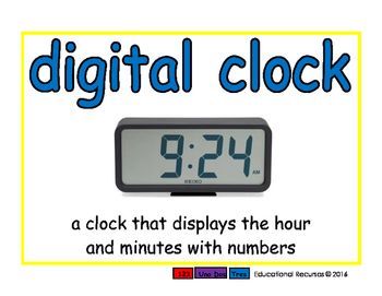 digital clock/reloj digital meas 2-way blue/verde