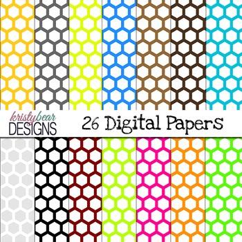 Hexagon Digital Paper