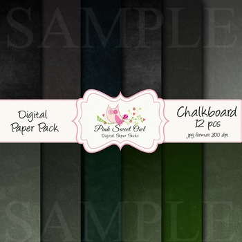 digital paper - chalkboard paper and background