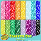 digital paper with confetti dot pattern - printable .jpg p